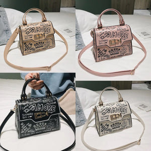 High Fashion Design Leather Hand Bag