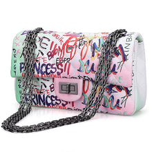 Load image into Gallery viewer, Graffiti MEDIUM HAND BAG