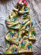 Load image into Gallery viewer, YELLOW UNICORN HORSE ROBE
