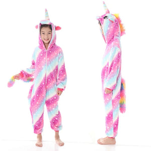 COTTON CANDY STAR UNICORN ONESIE