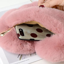 Load image into Gallery viewer, Fur Heart mini shoulder bag