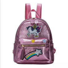 Load image into Gallery viewer, Unicorn Rainbow MINI  Little Girl Backpack