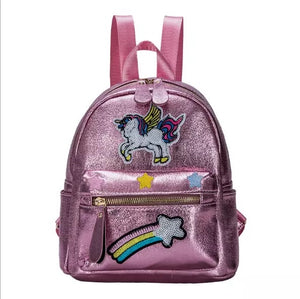 Unicorn Rainbow MINI  Little Girl Backpack