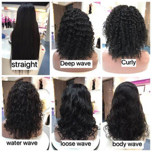 LUSTY PASSION HUMAN HAIR LACE  FRONTAL WIG
