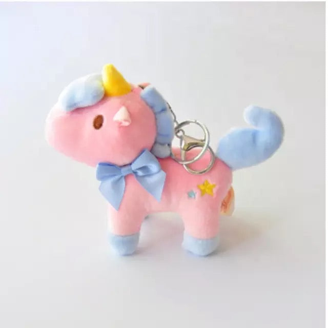 UNICORN SCENTED UNICORN BLUSH KEY CHAIN
