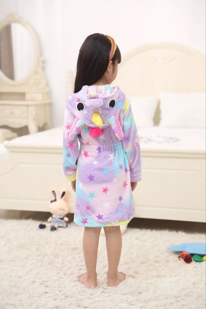 STAR BRIGHT GIRL ROBE