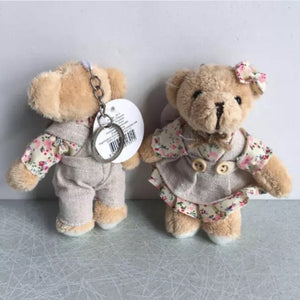 BROWN BEAR KEY CHAIN