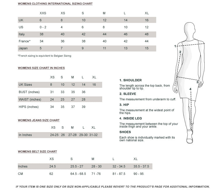 International Sizing Guide