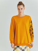 Mustard Graphic Crewneck