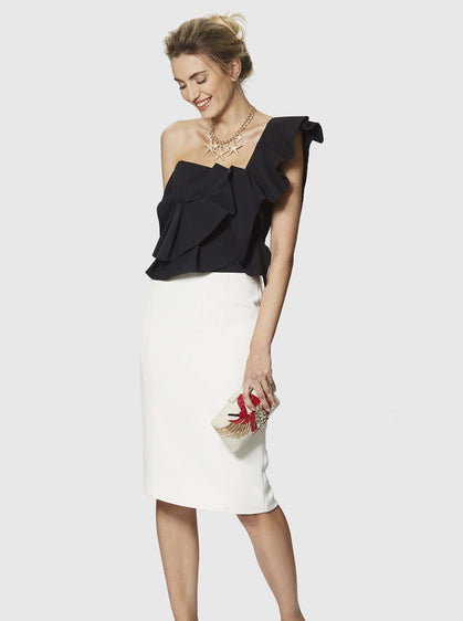 Hamptons Fitted Pencil Skirt