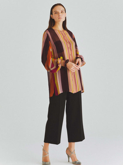 70s Striped Tunic