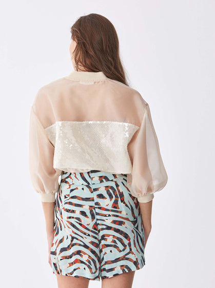 Deco Safari Wide Leg Short