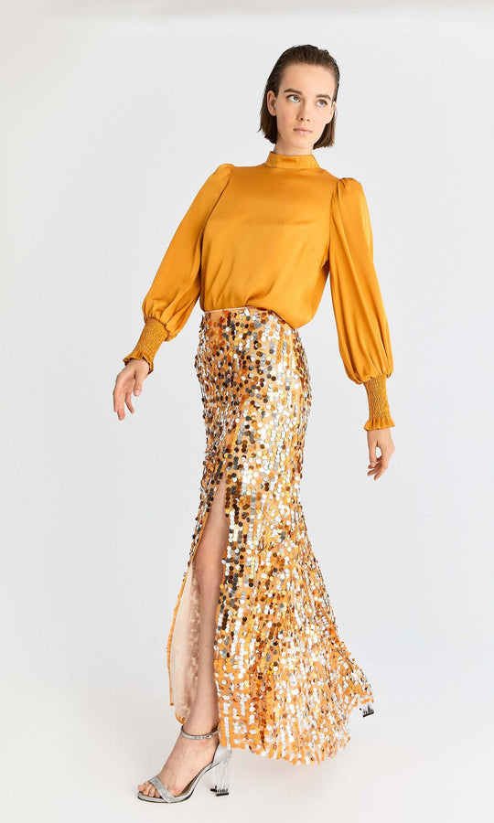 Gold & Silver Sequin Maxi