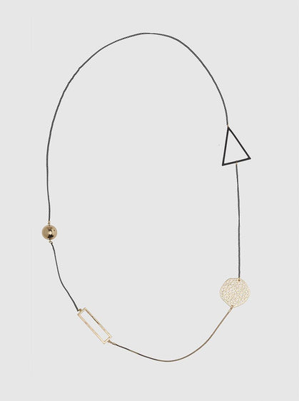 ROMAN USA-GEOMETRIC NECKLACE-- [ORIGINAL]