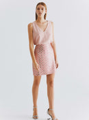 "ROMAN USA-""Pretty In Pink"" Sequin Skirt-- [PINK]"