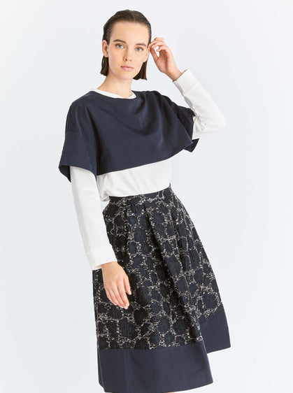 A-Line Leopard Spotted Skirt