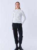 ROMAN USA-K2171072 KNITWEAR TOP-- [BONE]