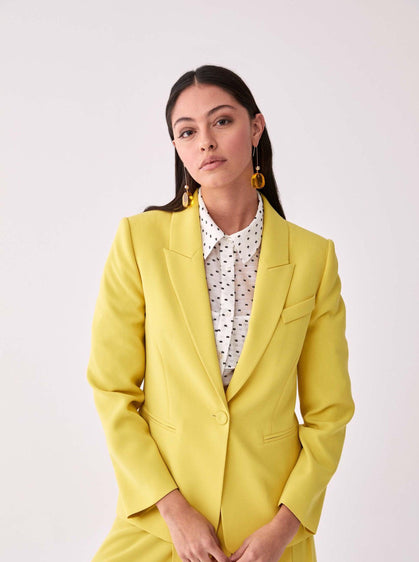 Single Breasted Notched Blazer