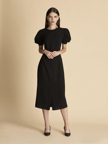 NECKLINE DETAILED DRESS