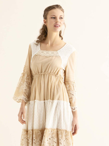 Tiered Eyelet Sundress