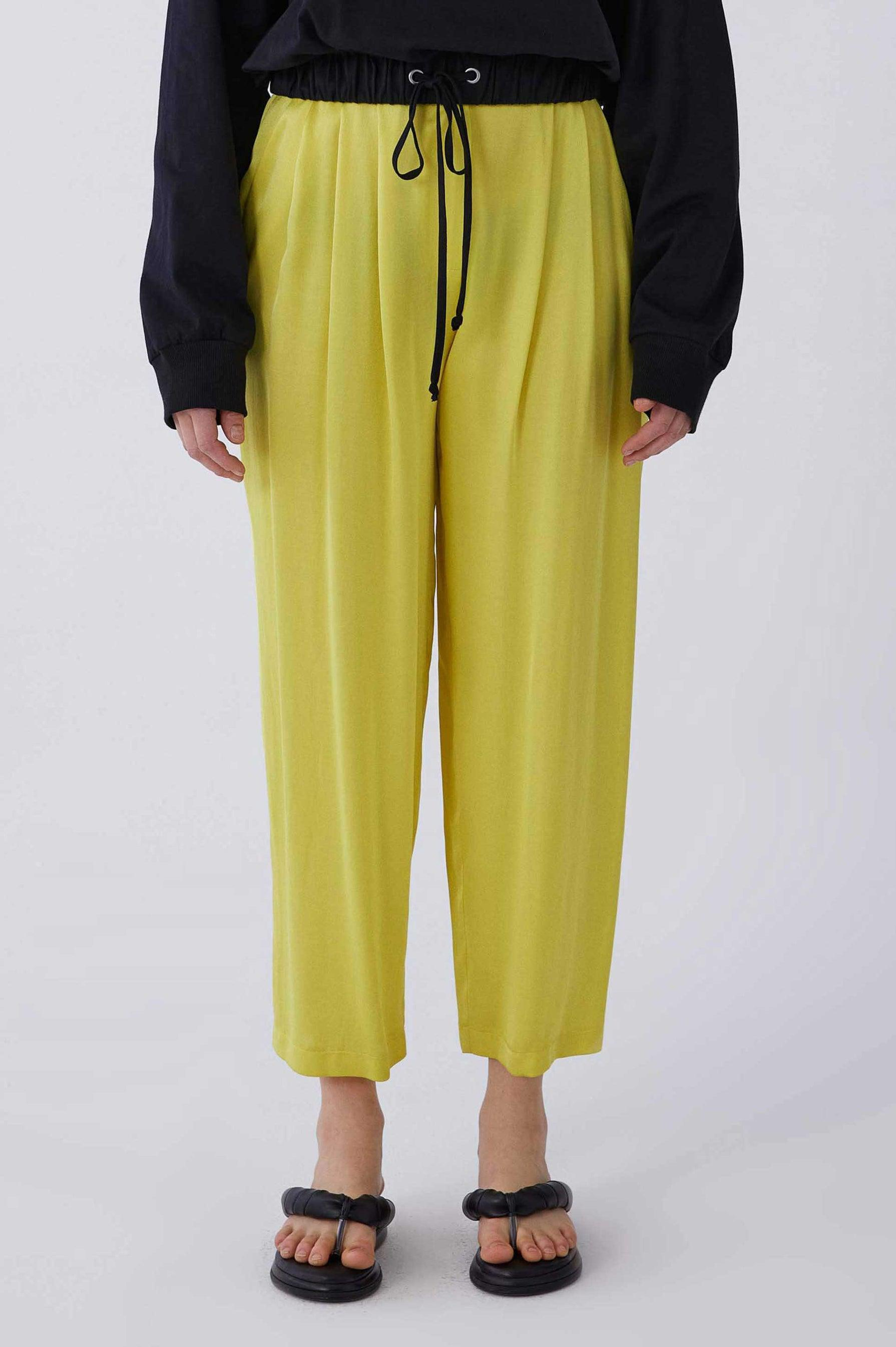 ROMAN USA-Y2112061 PANTS-- [YELLOW]