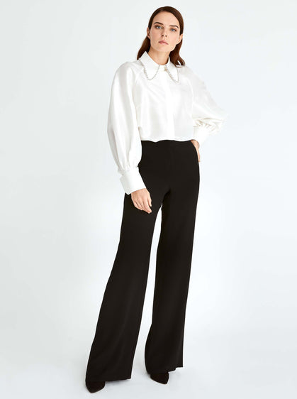 Classic Wide Leg Dress Pant