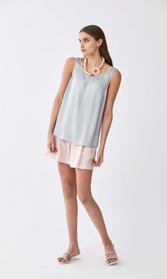 Essential Scoop Neck Longline Top
