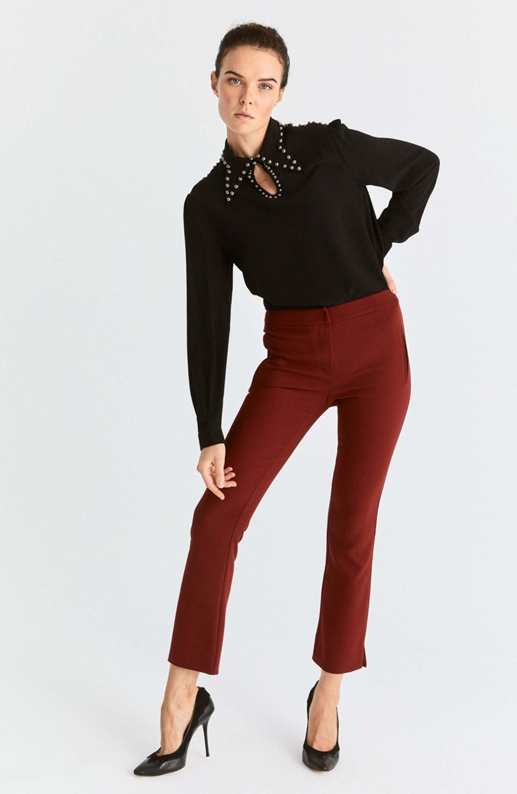 Semi-Flare Ankle Pant
