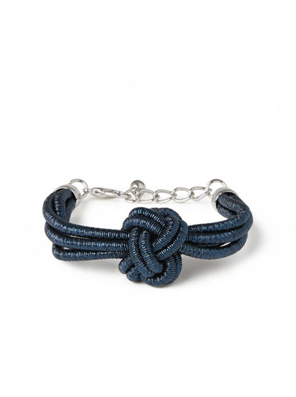 ROMAN USA-Sailor Knot Bracelet-- [BLUE]