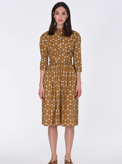 Cotton Polka Dot Dress