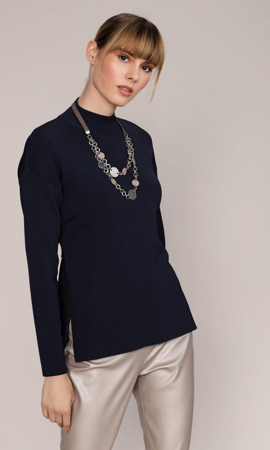 BELT DETAILED KNITWEAR TOP