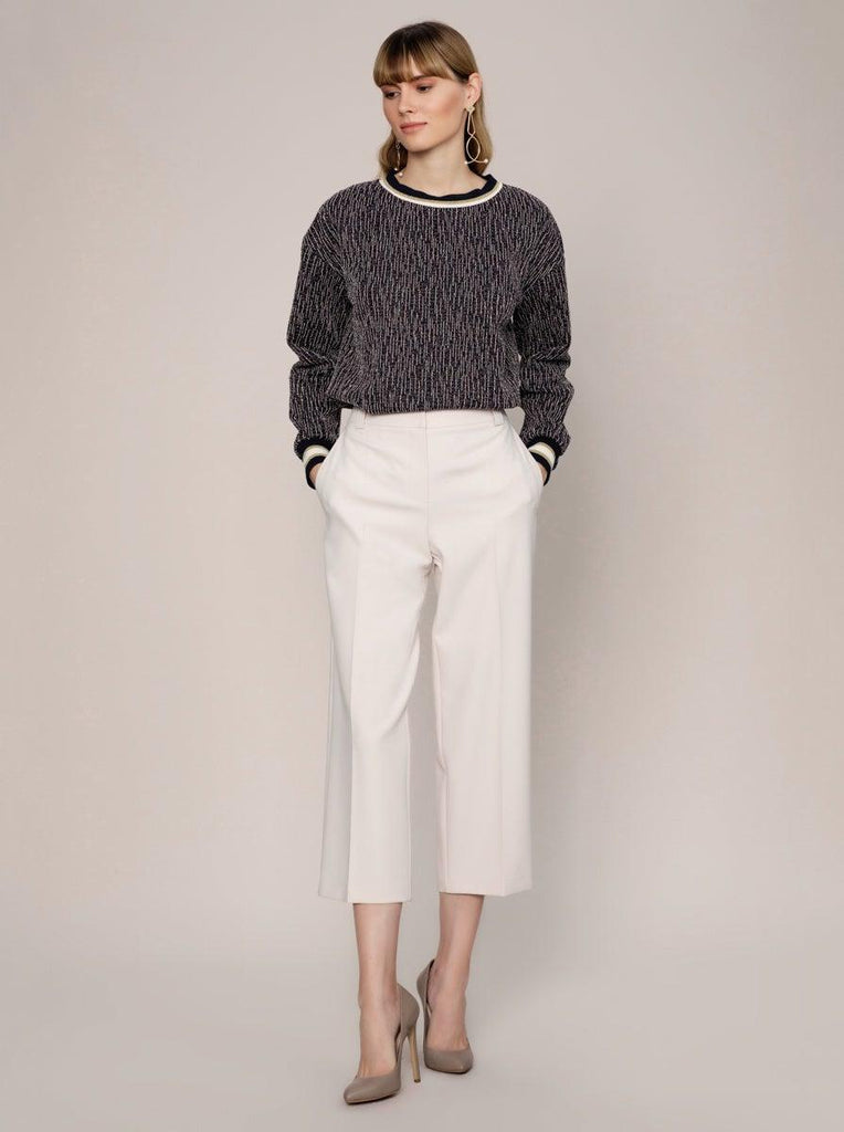 CROPPED OFFWHITE PANTS