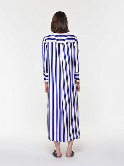 Cabana Striped Maxi Dress