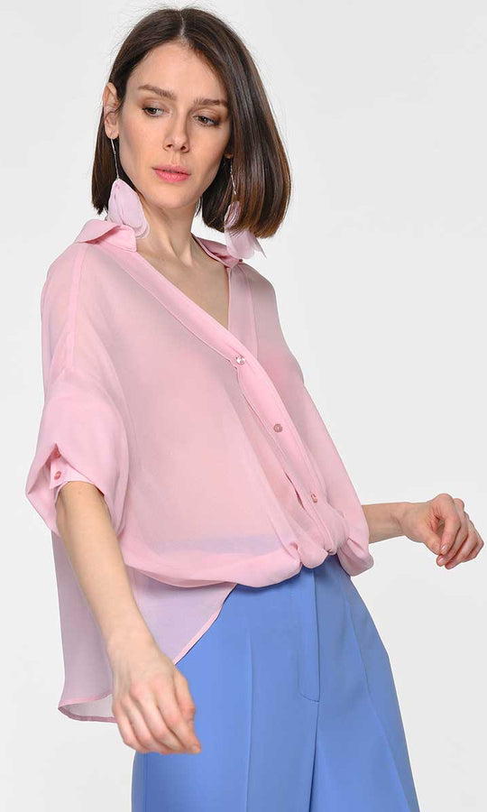 FRONT DETAILED BLOUSE