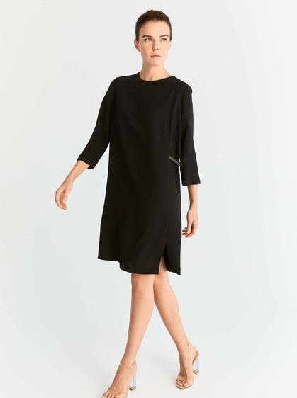 Roman USA, shift dress, black dress