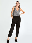 Straight Leg Ankle-Cut Pant