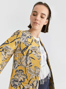 Yellow Floral Overcoat