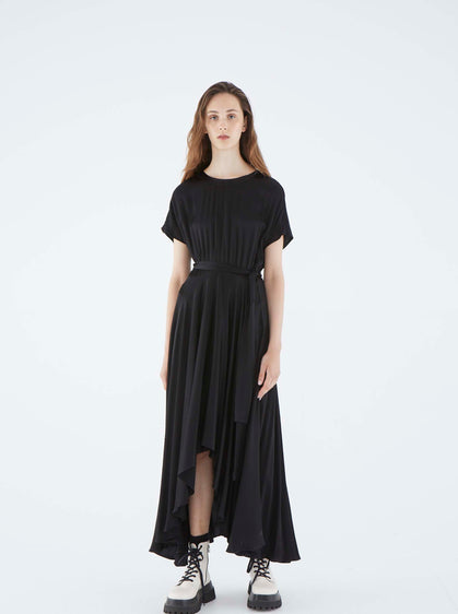 ROMAN USA-K2111525 DRESS-- [BLACK]