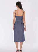 Chambray Bustier Sundress