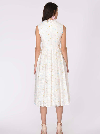 Speckled Derby Tea Dress