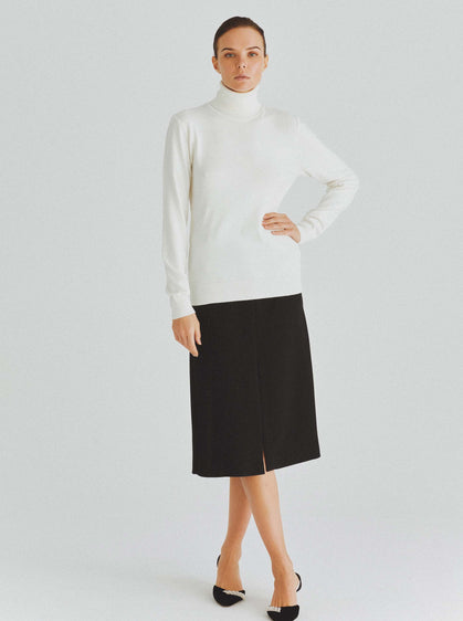 Classic Knit Turtleneck Sweater