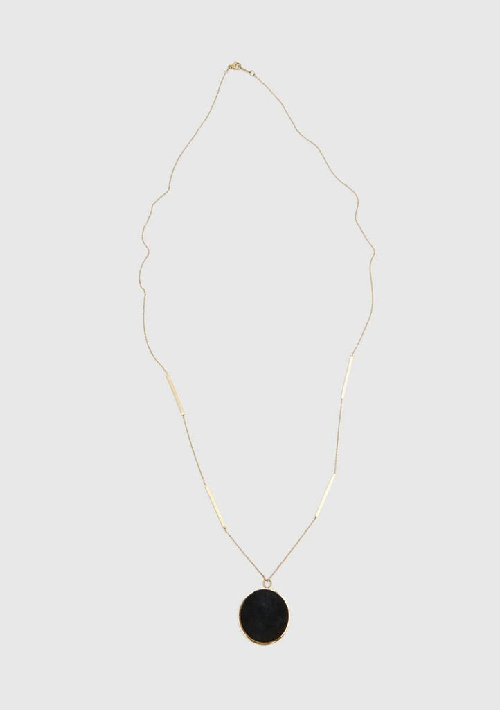 Accessories - BLACK PENDANT NECKLACE
