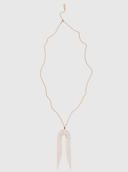 ROMAN USA-20s Chandelier Necklace-