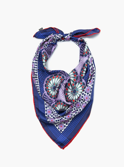 Accessories - Colorful Print Scarf