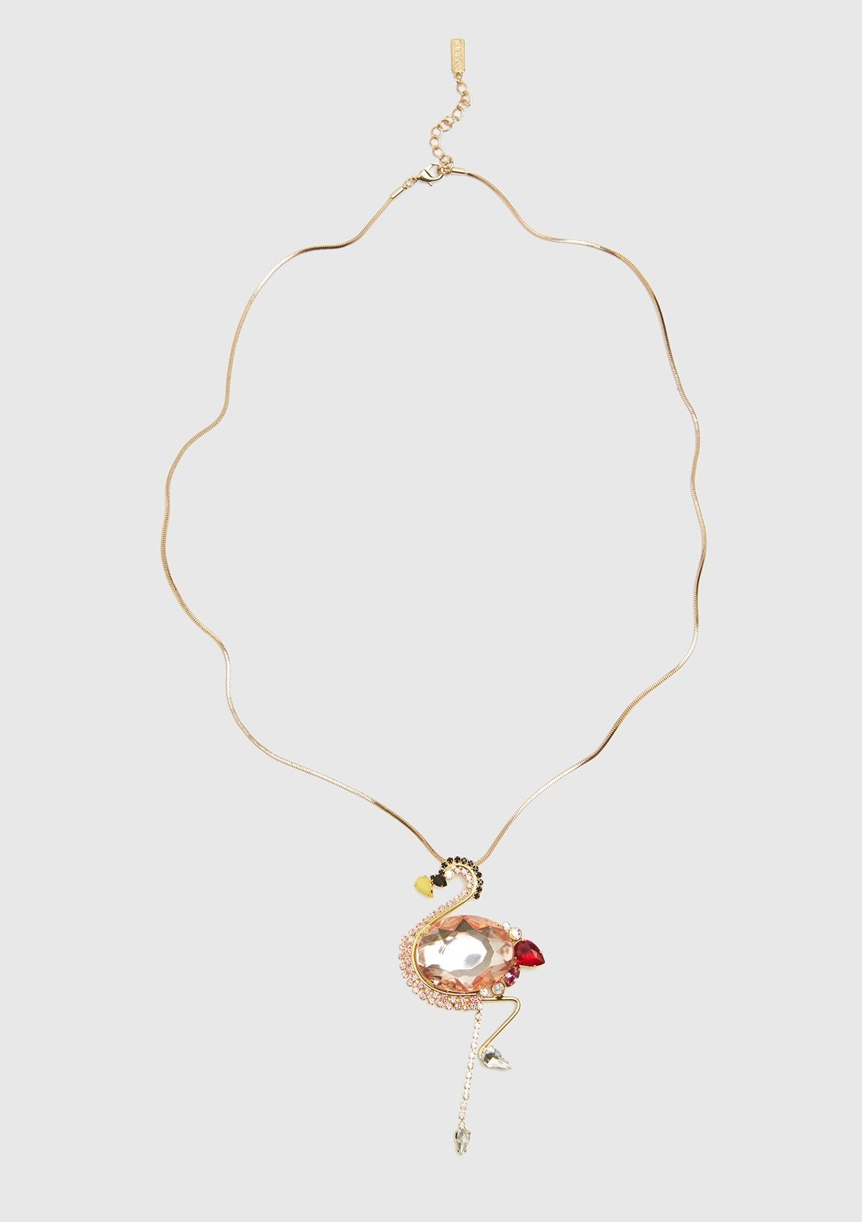 ROMAN USA-FLAMINGO NECKLACE-