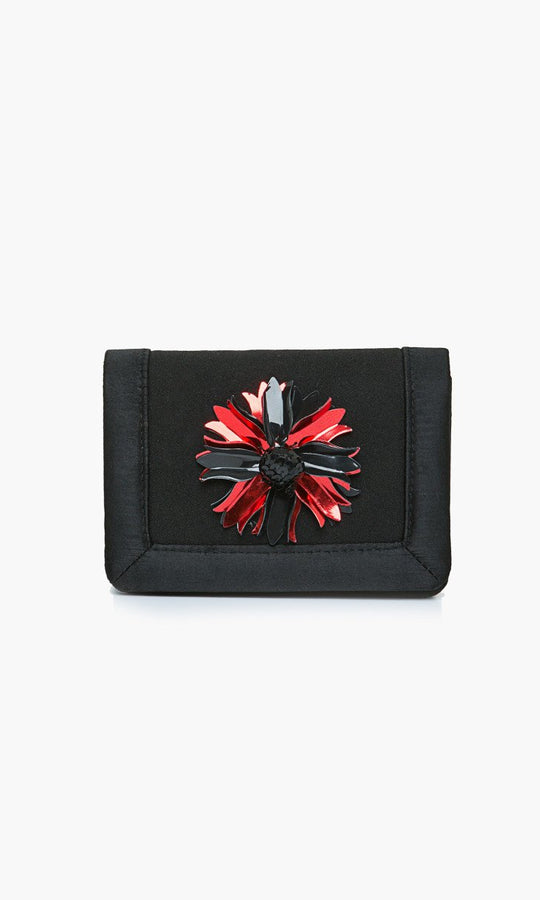 RED DETAIL MINI CLUTCH