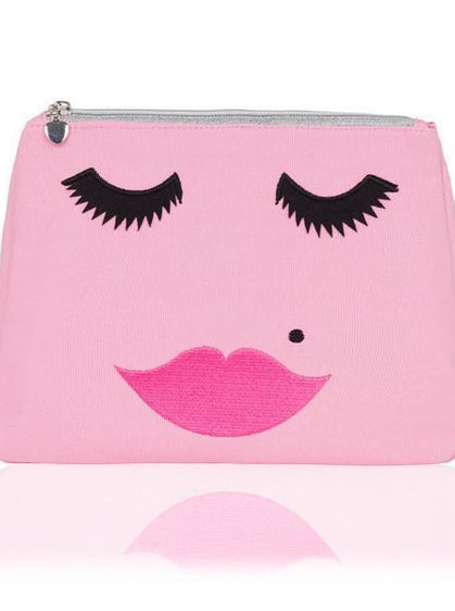Accessories - PINK LOVELY LASHES WASHBAG