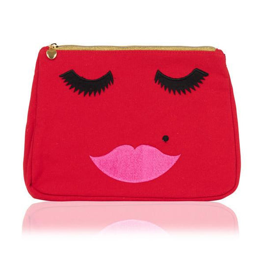 RED FACE WASHBAG