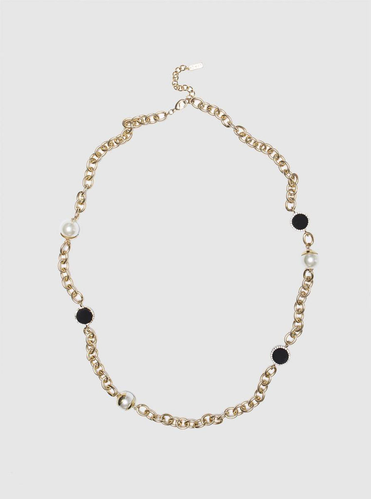 Accessory - CURB CHAIN NECKLACE IN GOLD