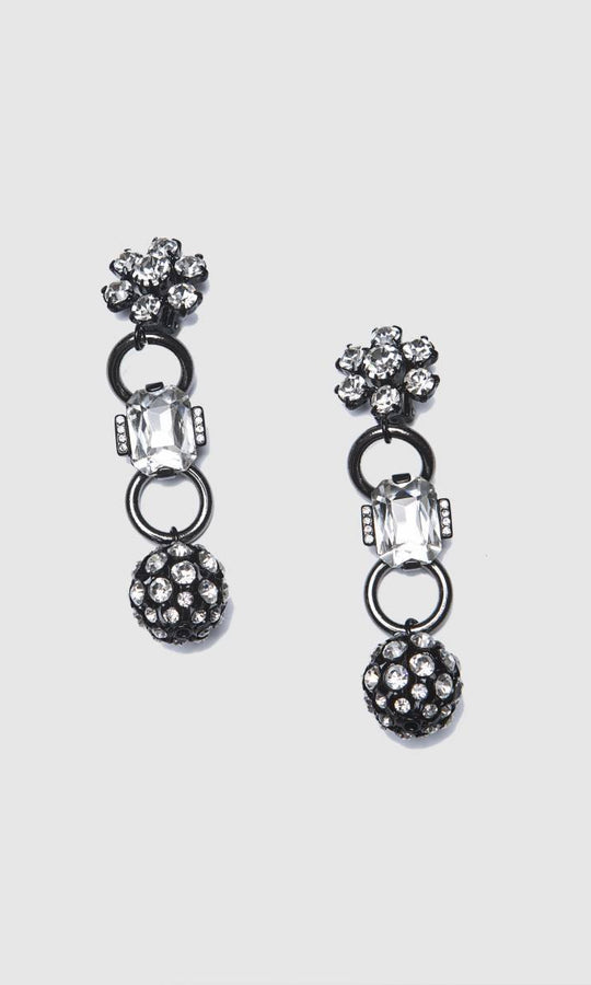 Accessory - DROP FLOWER EARRING